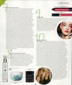 Artykuł w fashion magazine o KOI