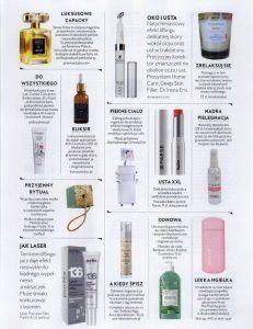 Eliksir KOI w gazecie pośród najlepszych kosmetyków
