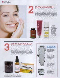 KOI doskonale zaopiekuje się twoją twarzą, artykuł w gazecie