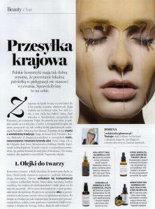 Najlepsze polskie kosmetyki to KOI Cosmetics, artykuł w gazecie