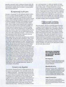 KOI w magazynie Glamour opowiada o biznesie