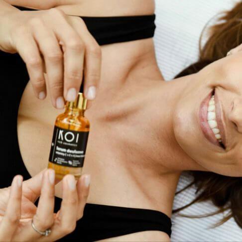 Serum dwufazowe doskóry twarzy KOI Cosmetics toogromna porcja witamin