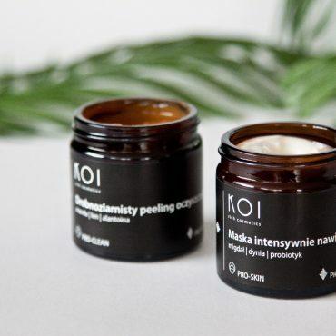 Peeling iMaska KOI Cosmetics dotwarzy
