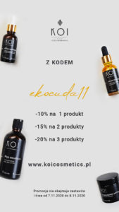 Ekocuda targi kosmetyczne KOI Cosmetics