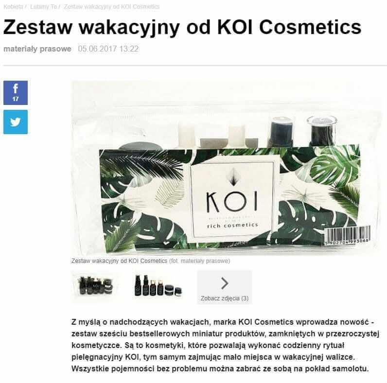 Zestaw KOI wkobieta.gazeta.pl