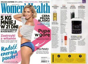 Krem KOI w magazynie WOMEN'S HEALTH