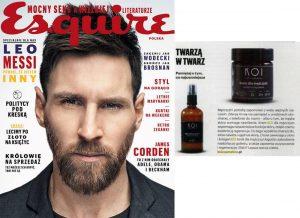 KOI dla mężczyzn w magazynie Esquire