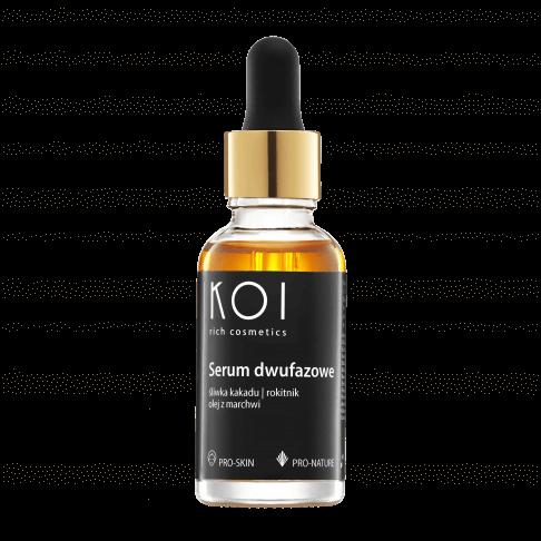 Serum dwufazowe KOI Kosmetyki najlepsze dotwarzy